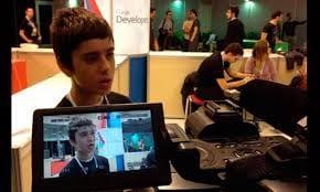 Garoto grego de 12 anos é o novo programador do Google