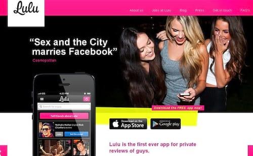 App Lulu está fazendo sucesso entre as mulheres