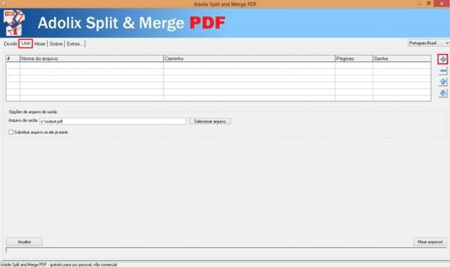 Como unir vários PDFs em um só?
