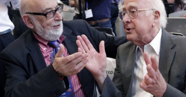 Englert and Higgs na decisão do Nobel / Fonte: BBC news