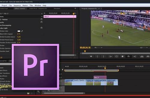 Adobe Premiere Pro CC - Criando um efeito replay em vídeo
