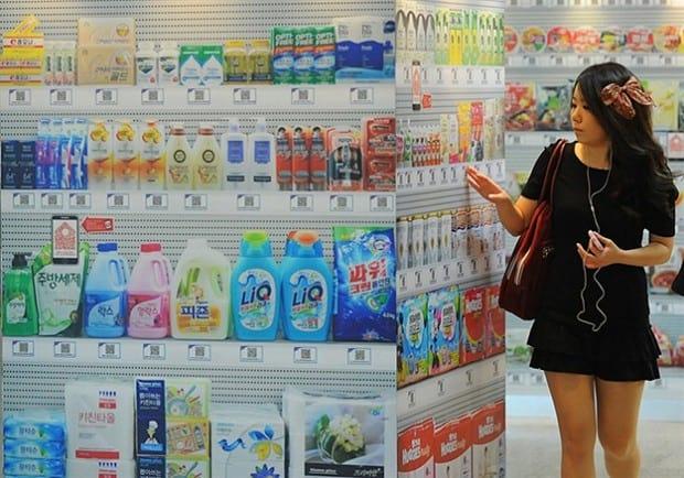 Conheça uma loja de conveniência moderna e futurista na Coréia do Sul