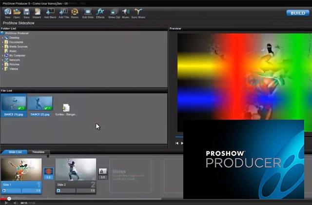 Proshow Producer 5 - Criando transição com gradiente ou degrade