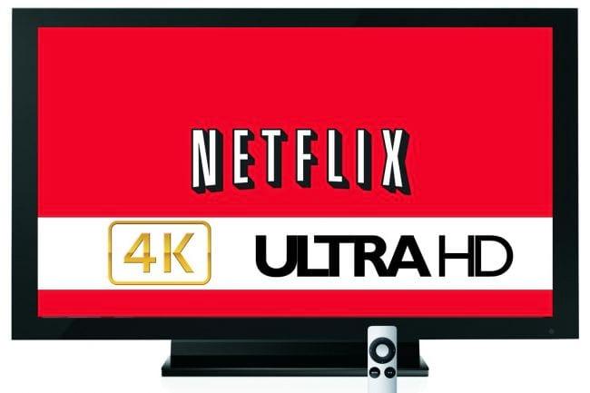 Netflix anuncia lançamento de transmissão de vídeos 4K para janeiro