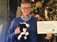 Jovem é surpreendida por Bill Gates em amigo secreto do Reddit