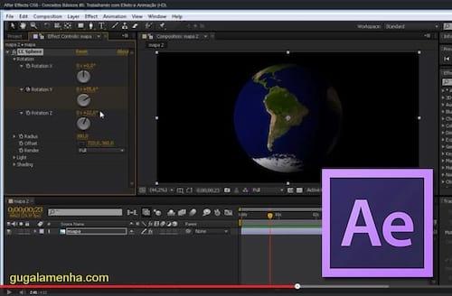 Trabalhando com efeito e animação no Adobe After Effects CS6
