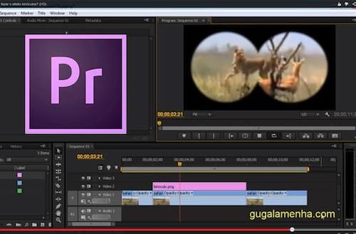 Como criar o efeito binóculo no Adobe Premiere CS6
