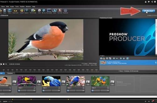 Função Publish no Proshow Producer 5 - Parte 2
