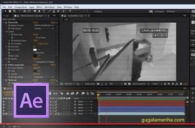 Adobe After Effects CC - Como criar um efeito de câmera de segurança