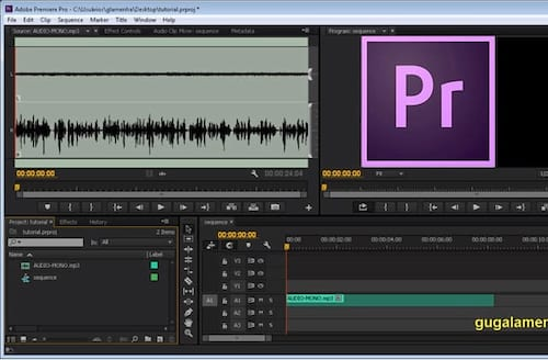 Como forçar áudio mono para stereo no Adobe Premiere Pro?