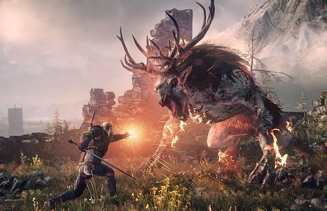 Batalha em The Witcher 3: Wild Hunt