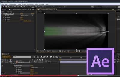 Como fazer efeito Feixe de luz no Adobe After Effects CC