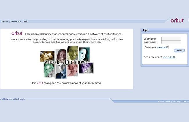 Orkut completa 10 anos veja como anda a popularidade da rede social
