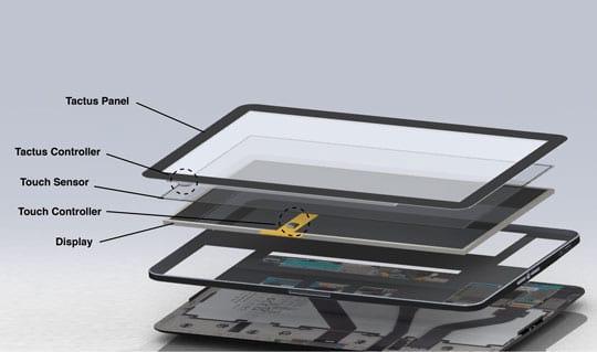Conheça o Tactus, uma nova maneira de usar o touch screen