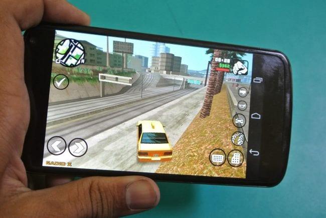 Aplicativo do game GTA: San Andreas