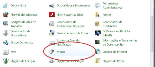 Como aumentar a velocidade do mouse no Windows?