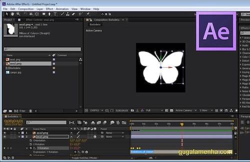 Como fazer uma borboleta voar no Adobe After Effects CS6