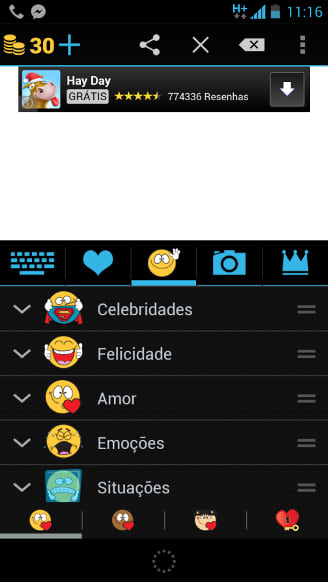 Como adicionar mais emoticons no WhatsApp