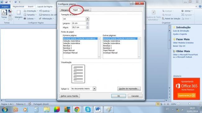 Word: como configurar margens de acordo com as normas ABNT?