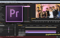 Como colocar uma marca d'água em um vídeo? Adobe Premiere Pro CS6