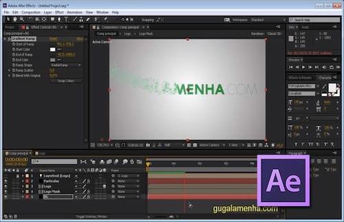 Como criar uma introdução no Adobe After Effects utilizando o Trapcode Particular?