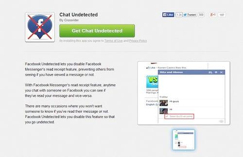Como esconder o horário de visualização no chat do Facebook