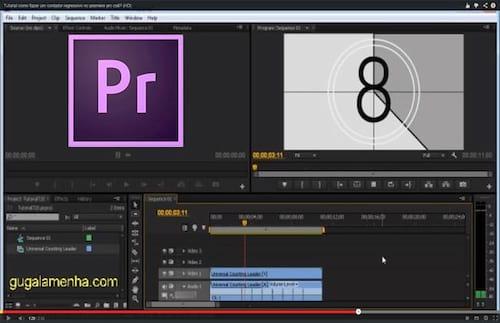 Adobe Premiere Pro CS6 - Como criar um contador regressivo