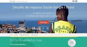 Google dará premio de R$ 1 milhão a quatro ONGs