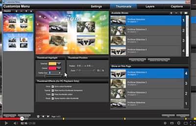 Função Publish no Proshow Producer 5 - Parte 4.2 - Thumbnails