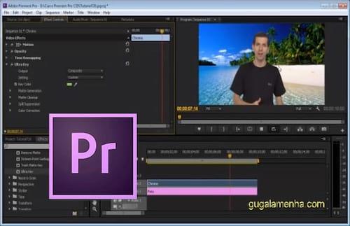 Como fazer Chroma Key no Premiere Pro CS6?