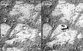 Nasa explica imagem misteriosa de Marte
