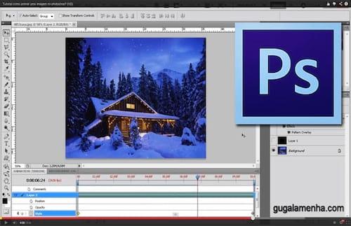 Photoshop: Como criar uma animação em uma imagem?