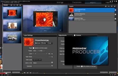 Função Publish no Proshow Producert 5 - Parte 4.3 (Layers)