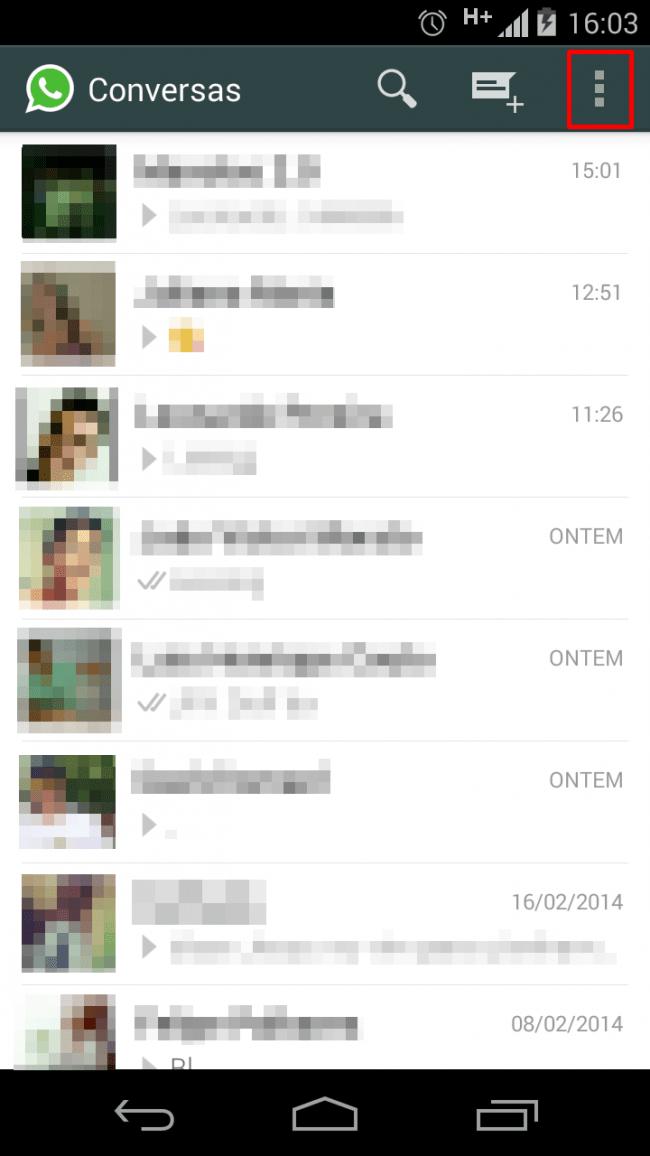 Criando um grupo no WhatsApp #1