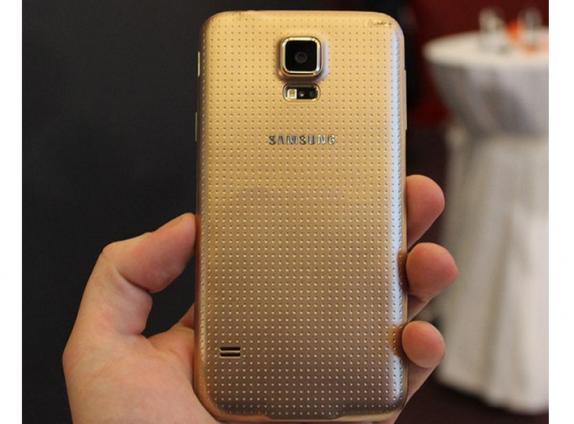 Imagem vazada exibe Samsung Galaxy S5 de frente