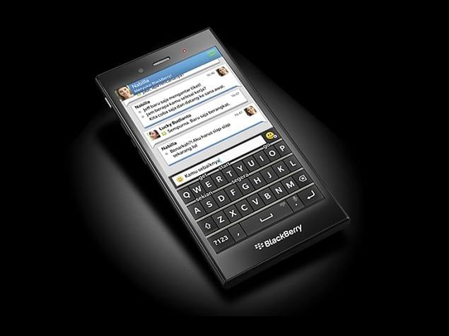 BlackBerry apresenta smartphone por menos de US$ 200
