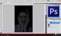 Photoshop: Como transformar uma imagem em formato de texto?