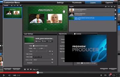 Função Publish no Proshow Producer 5 - Parte 4.5 - Criando temas personalizados