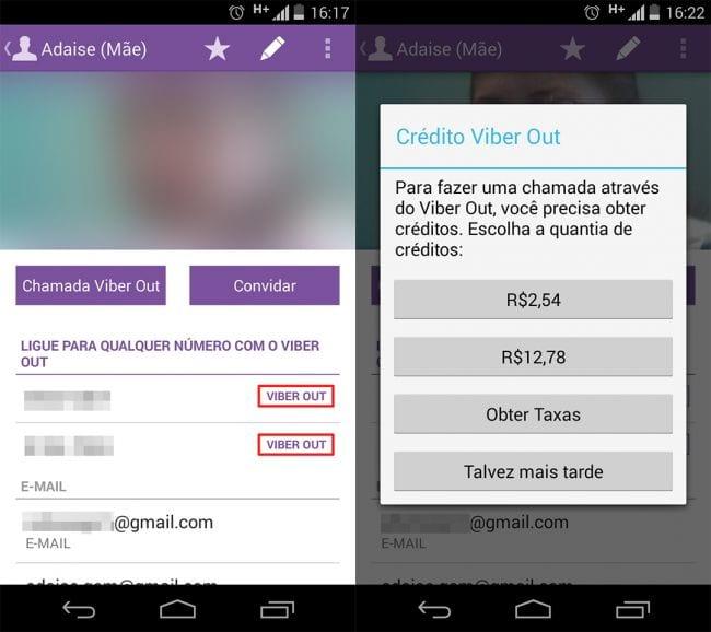 Como fazer ligações para telefone fixo grátis pelo Viber