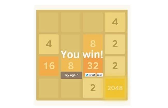 2048, o jogo que é febre do momento