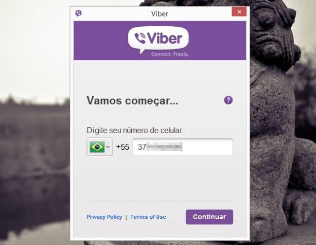 Instalando o Viber no PC #3