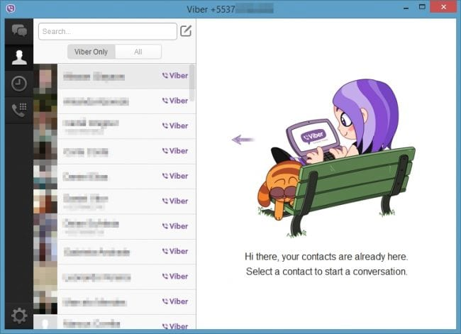 Instalando o Viber no PC #4