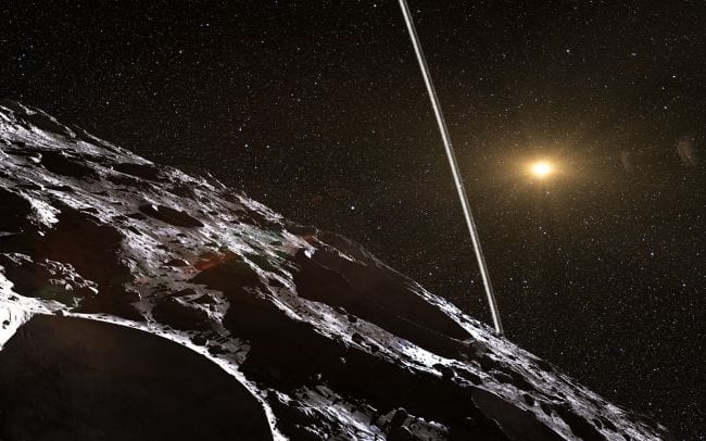 Brasileiros descobrem primeiro asteróide com anéis em sua órbita