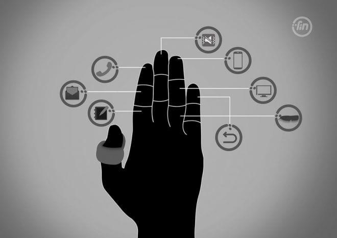 Conheça o Fin, o anel que transforma sua mão em um dispositivo bluetooth
