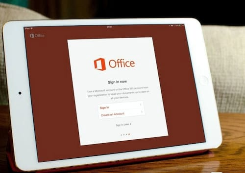 Microsoft anuncia Office para iPad