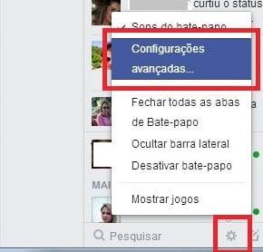 Como bloquear amigos no bate-papo do Facebook