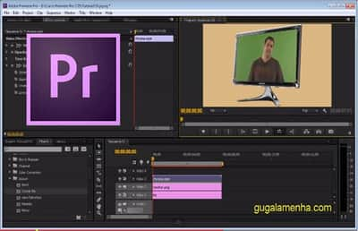 Efeito Corner Pin no Adobe Premiere Pro