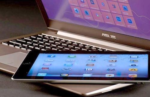 Pela primeira vez, venda de tablets ultrapassa a de notebooks