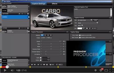 Explorando a função Caption no Proshow Producer 5 - Parte 1