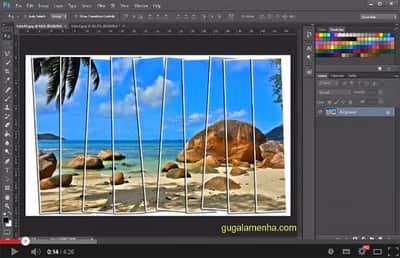Clipmask no Photoshop - Mascara de corte